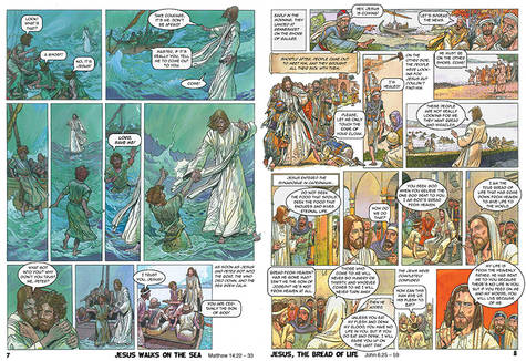 The Comic Book Bible New Testament 2 Scanpublishing Dk