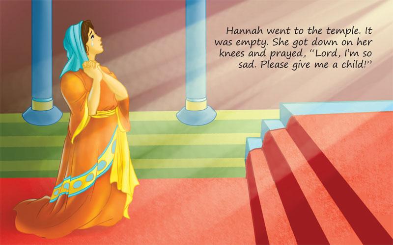 Hannah Prays to God | scanpublishing.dk