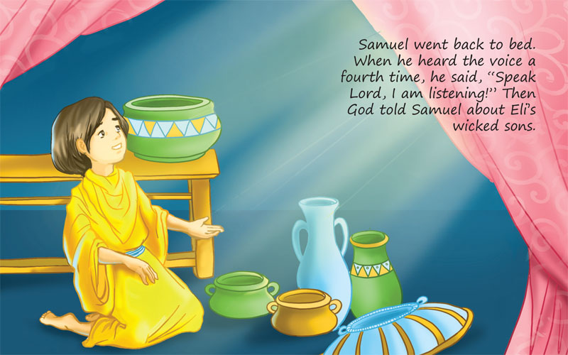 Samuel Hears God S Voice Scanpublishing Dk