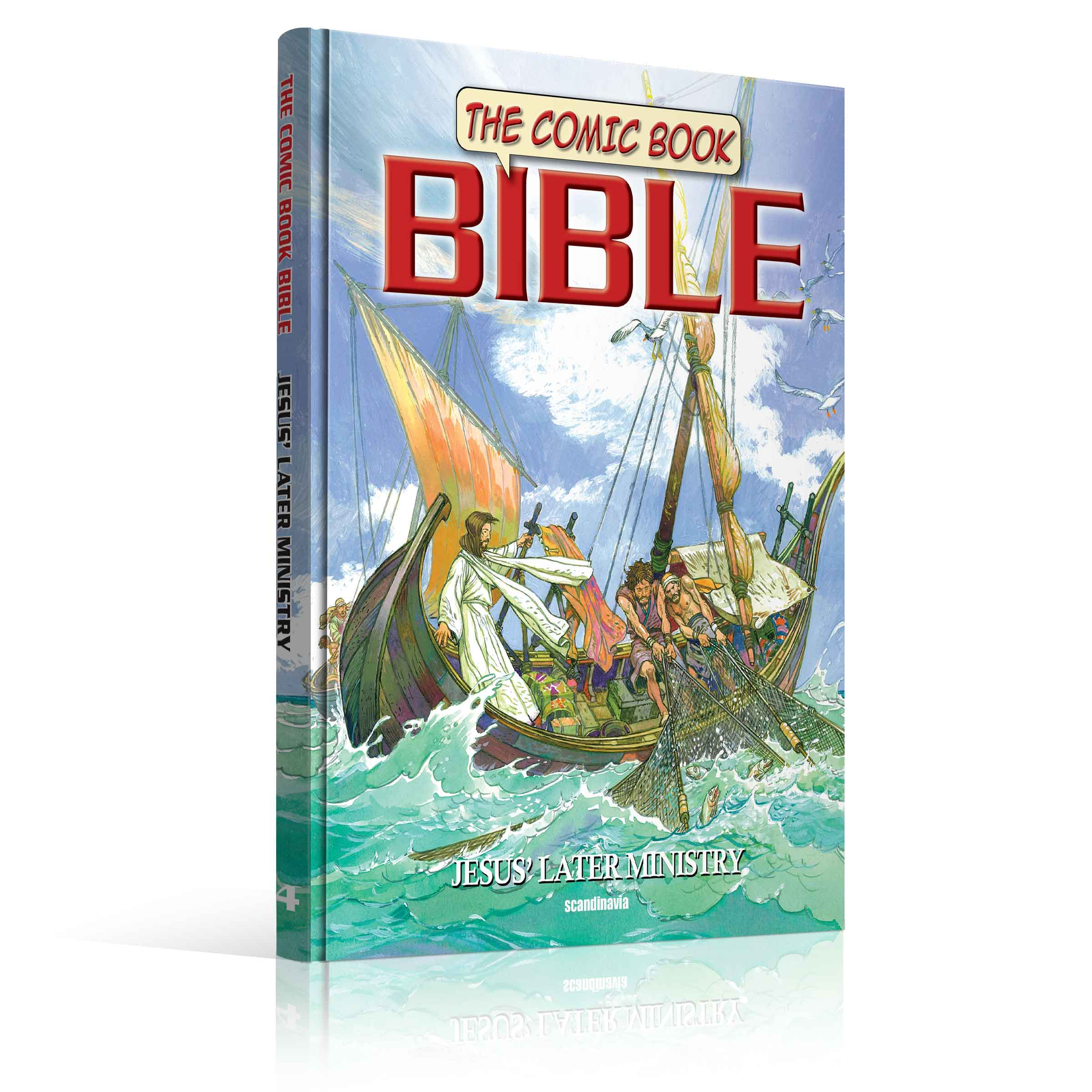 the comic book bible series