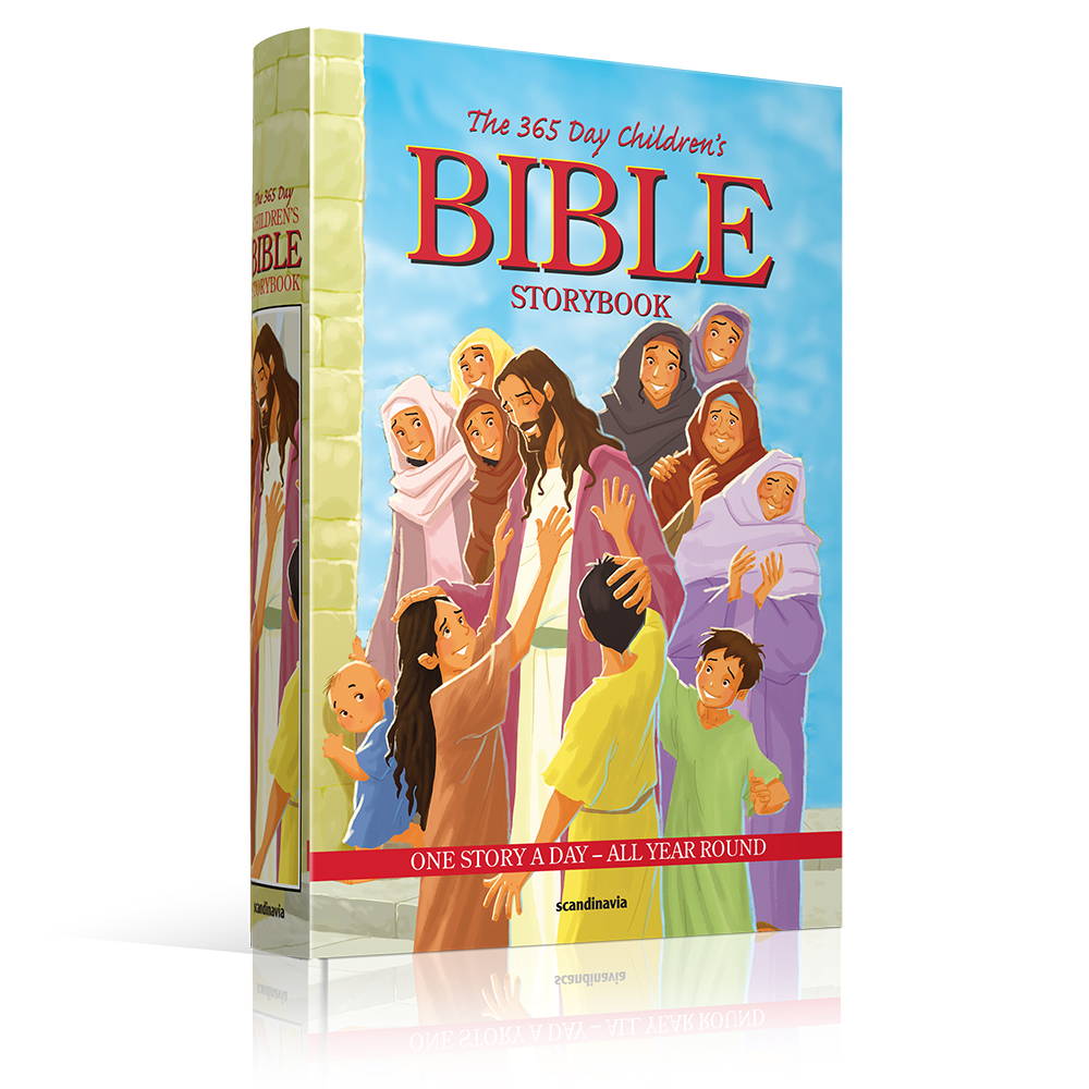 The 365 Day Children's Bible - Sph as