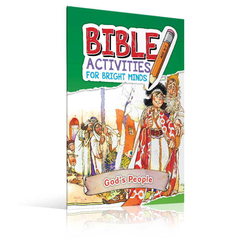 Activity Books | Bible Activities for Bright Minds - Sph as