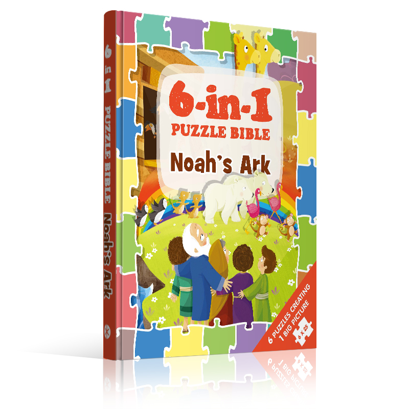 6-in-1 Puzzle Bibles | Jigsaw puzzle Bible - Sph as