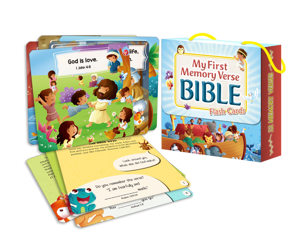 My First Memory Verse Bible Flashcards - Sph as